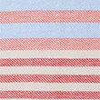 Pure Cotton Striped Polo Shirt, CORAL MIX, swatch