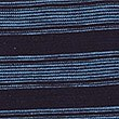 Pure Cotton Striped Polo Shirt, NAVY, swatch