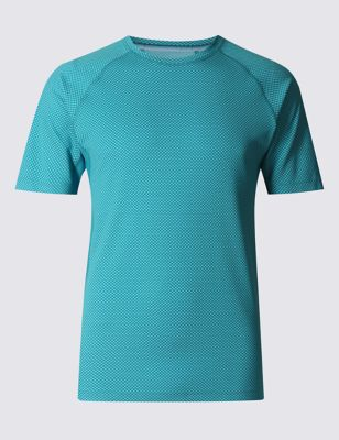 Слегка приталенная футболка Cool Comfort M&S Collection T285245M