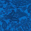 Pure Cotton Slim Fit Paisley T-Shirt, PRUSSIAN, swatch