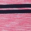 Pure Cotton Striped Polo Shirt, PINK MIX, swatch