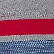 Pure Cotton Striped Polo Shirt, GREY MIX, swatch