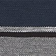 Pure Cotton Striped Polo Shirt, BLACK MIX, swatch