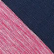 Pure Cotton Tailored Fit Striped Polo Shirt, RASPBERRY, swatch