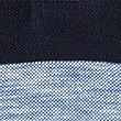 Pure Cotton Striped Polo Shirt, INDIGO MIX, swatch