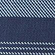 Pure Cotton Striped Polo Shirt, INDIGO MIX, swatch