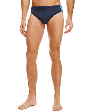 Quick Dry Swim Briefs, NAVY, catlanding