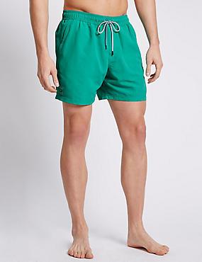 Quick Dry Swim Shorts, JADE, catlanding