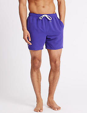 Quick Dry Swim Shorts, PURPLE, catlanding
