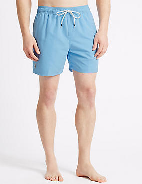 Quick Dry Swim Shorts, LIGHT BLUE, catlanding