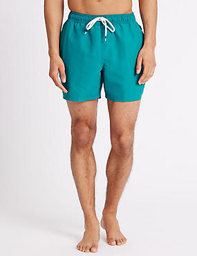 Quick Dry Swim Shorts, KINGFISHER, catlanding