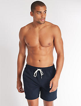 Big & Tall Quick Dry Swim Shorts, NAVY, catlanding