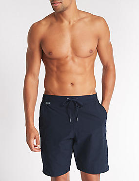 Cotton Rich Quick Dry Swim Shorts, , catlanding