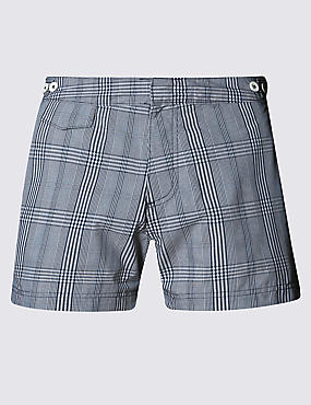 Tailored Fit Short Length Quick Dry Swim Shorts