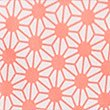 Quick Dry Tailored Fit Star Print Swim Shorts, CORAL, swatch