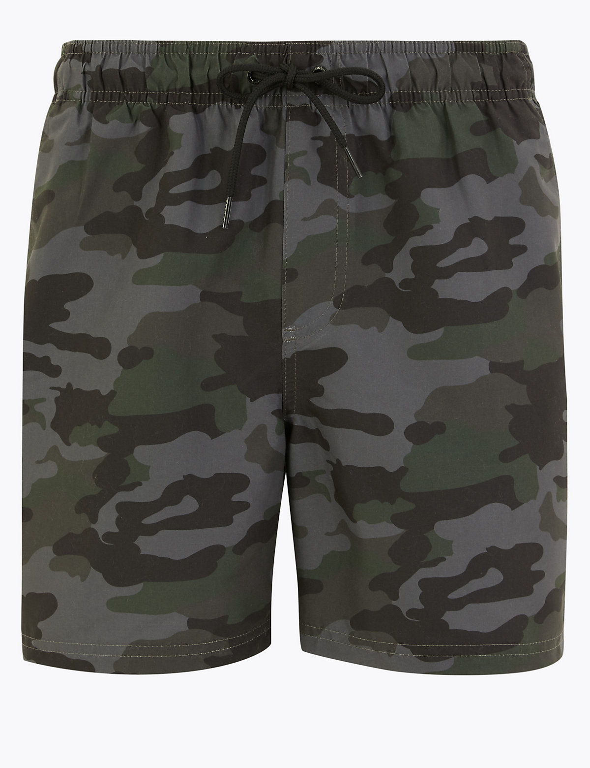 Быстросохнущие шорты для плавания с камуфляжным принтом