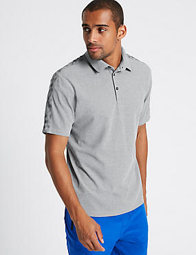 Slim Fit Polo Shirt, GREY, catlanding
