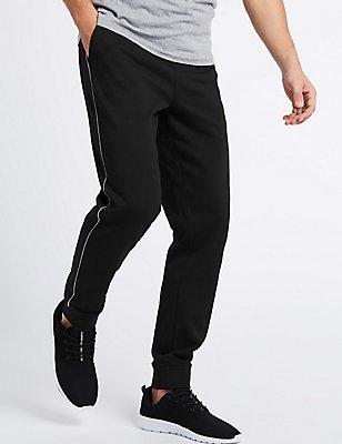 Slim Fit Joggers, BLACK, catlanding
