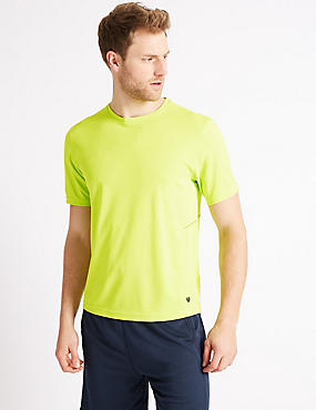 Active Performance Mesh T-Shirt             , BRIGHT LIME, catlanding