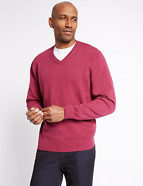 Pure Cotton Jumper, FUCHSIA, catlanding