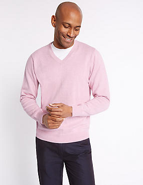 Pure Cotton Jumper, ROSE, catlanding