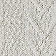 Pure Cotton Textured Jumper, ECRU MIX, swatch