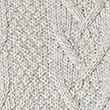Pure Cotton Textured Jumper, ECRU MIX, swatch