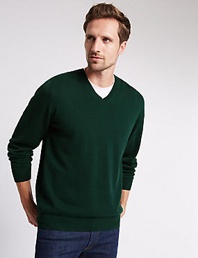 Pure Cotton Jumpers, EVERGREEN, catlanding