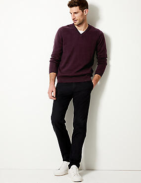 Pure Cotton Jumper, OXBLOOD, catlanding