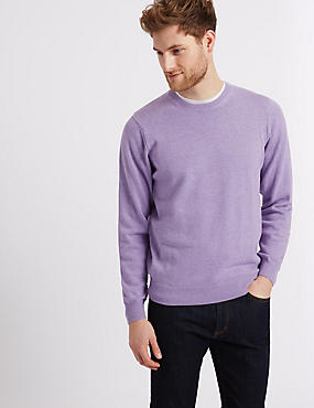 Pure Cotton Jumper, LILAC, catlanding