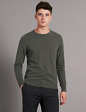 Jersey 100% cashmere, VERDE, catlanding