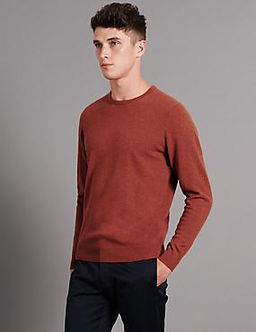 Pure Cashmere Jumper, COPPER, catlanding