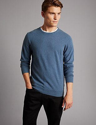 Pure Cashmere Jumper, LIGHT BLUE, catlanding