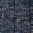 Textured Half Zipped Jumper, DENIM, swatch