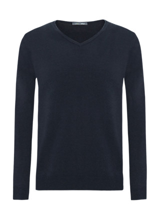 Cashmilon™ V-Neck Jumper Clothing