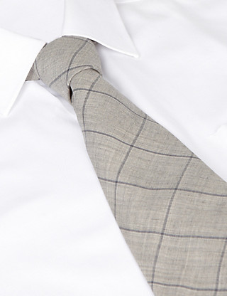 Best of British Large Grid Check Tie Clothing