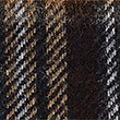 Lambswool Classic Royal Stewart Check Scarf, BROWN MIX, swatch