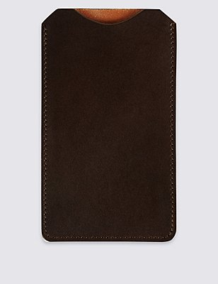 Made in the UK Leather iPhone Case, , catlanding