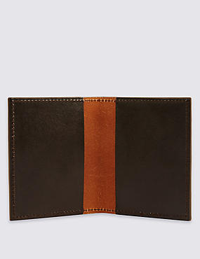 Made in the UK Leather Card Wallet, , catlanding