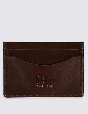 Made in the UK Leather Card Holder, , catlanding
