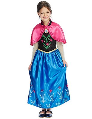 Kids' Disney Frozen Anna Costume, MULTI, catlanding