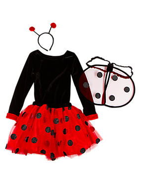 Ladybird Leotard Costume (3-12 Years)