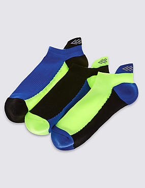 3 Pairs of Sports Socks (3-16 Years), BLUE MIX, catlanding