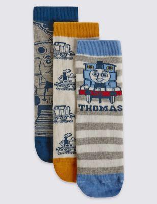 Хлопковые носки с дизайном Thomas & Friends™ в ассортименте для мальчика 3-6 лет (3 пары) T644496