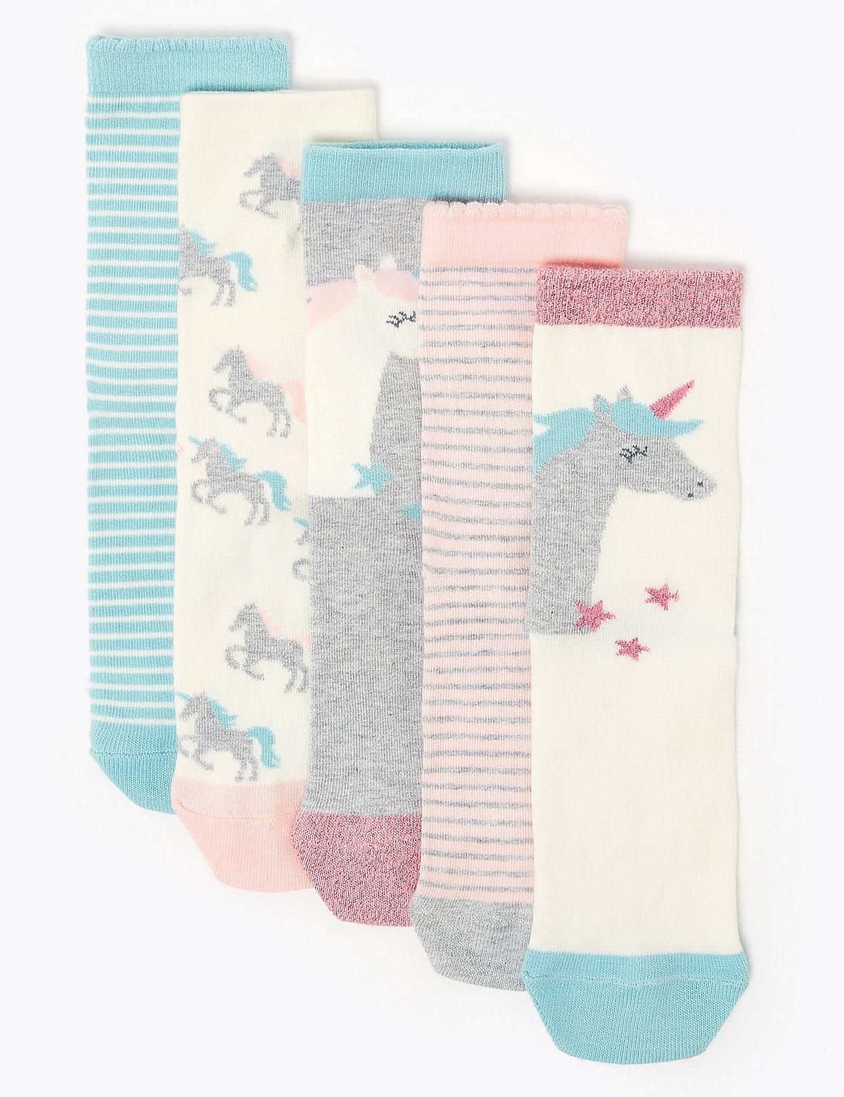 Комплект носков с принтом
