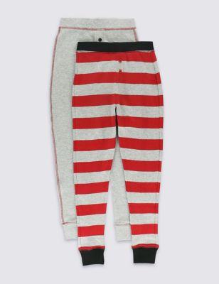Термобелье для мальчика 1-16 лет: мягкие брюки с манжетами (2 пары) T710210