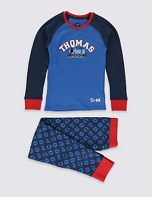 Thomas & Friends™ Long Sleeve Thermal Set (18 Months - 7 Years), BLUE MIX, catlanding
