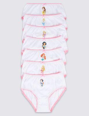 Трусики-брифы с дизайном Disney Princess для девочки 1-7 лет (7 шт)