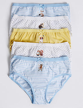 Pure Cotton Briefs (18 Months - 12 Years), YELLOW MIX, catlanding