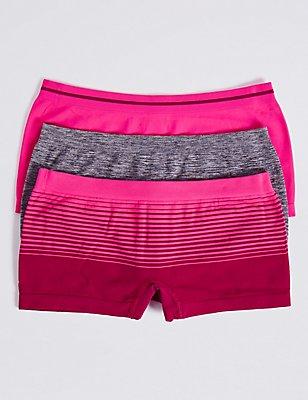 Seamfree Shorts (6-16 Years), PINK MIX, catlanding